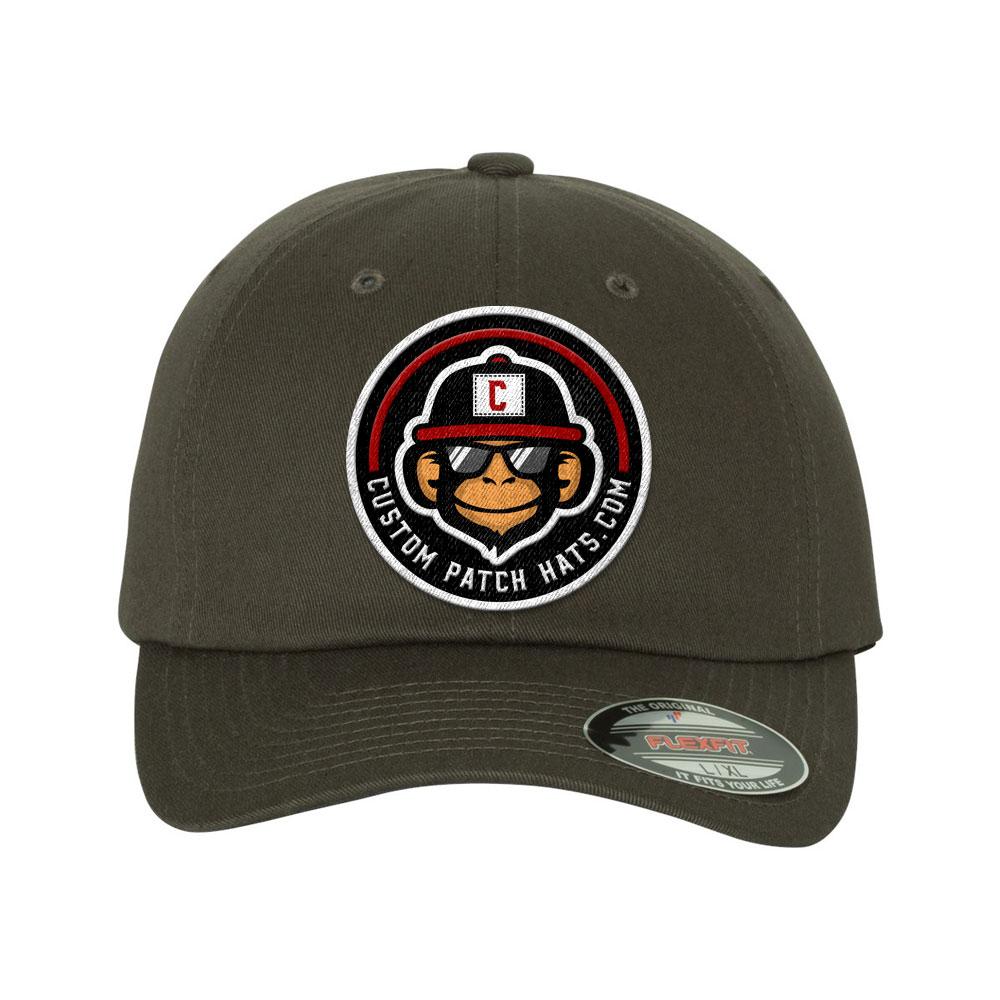 flexfit custom patch hats