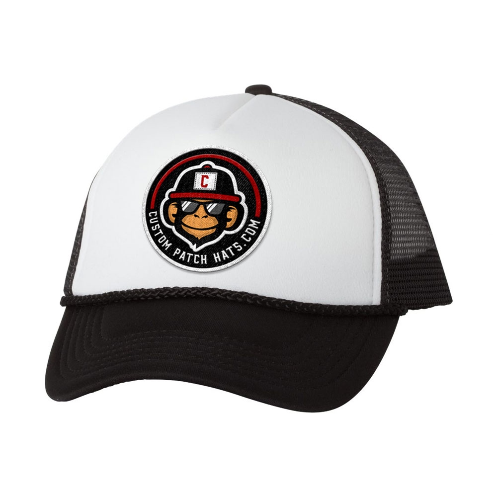 cheap foam custom patch hat