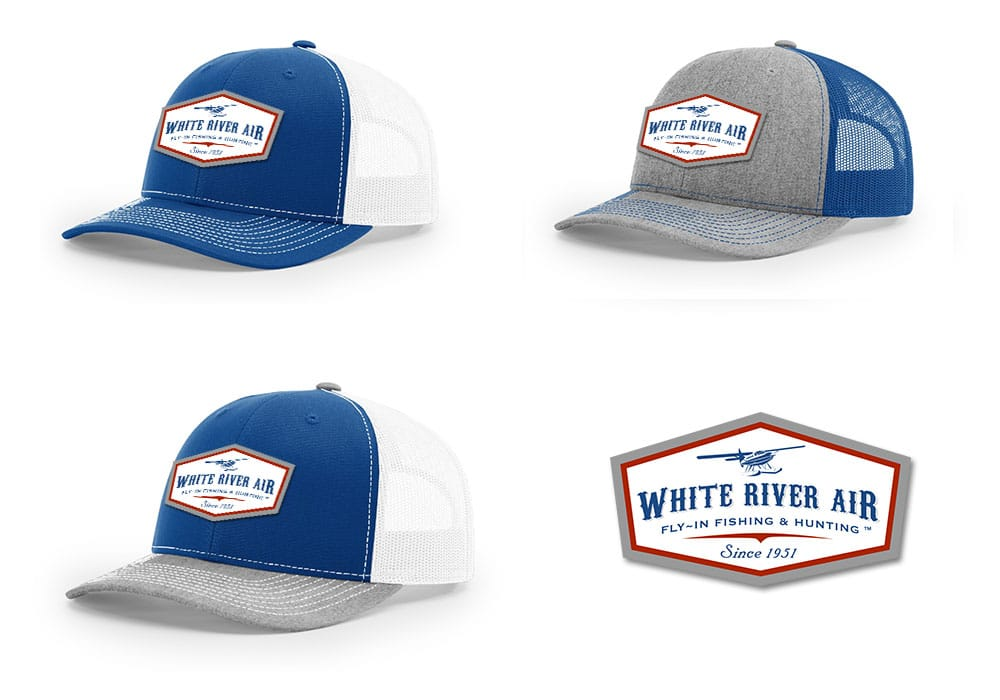 Custom Patch Hat Design Mockups