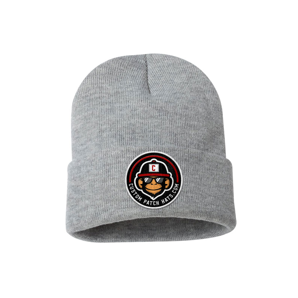 Custom Patch Winter Beanie Hat