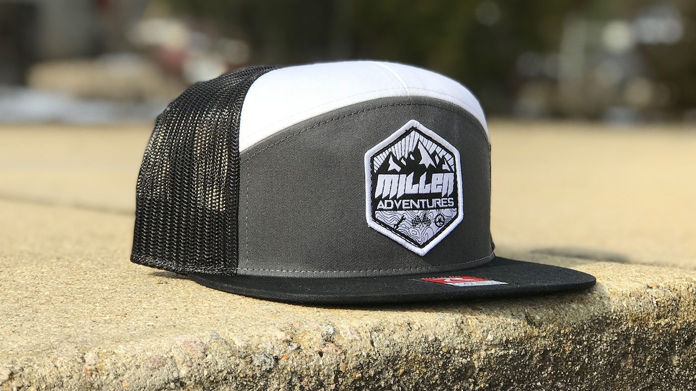 raleigh usa custom snapback hat