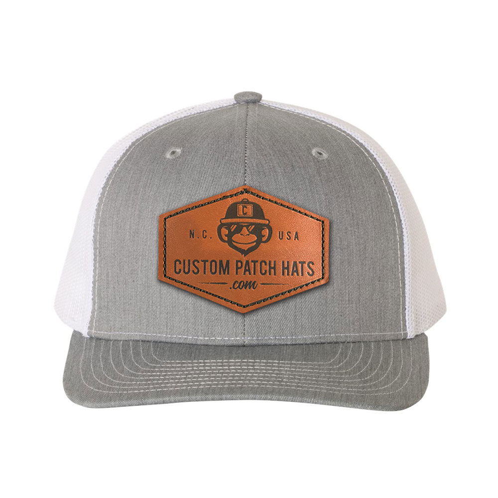 Custom Patch Hats - Order Custom Leather Patch Hats