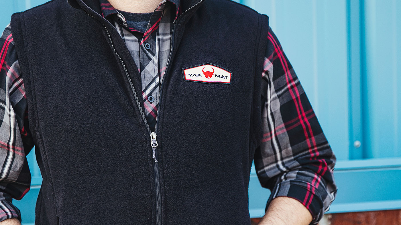 Custom Fleece Vests With Embroidery Patch