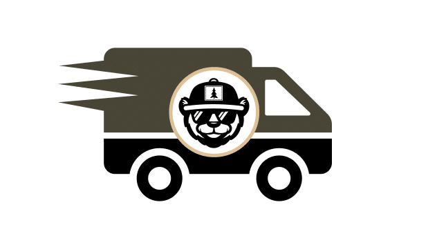 custom hat shipping icon
