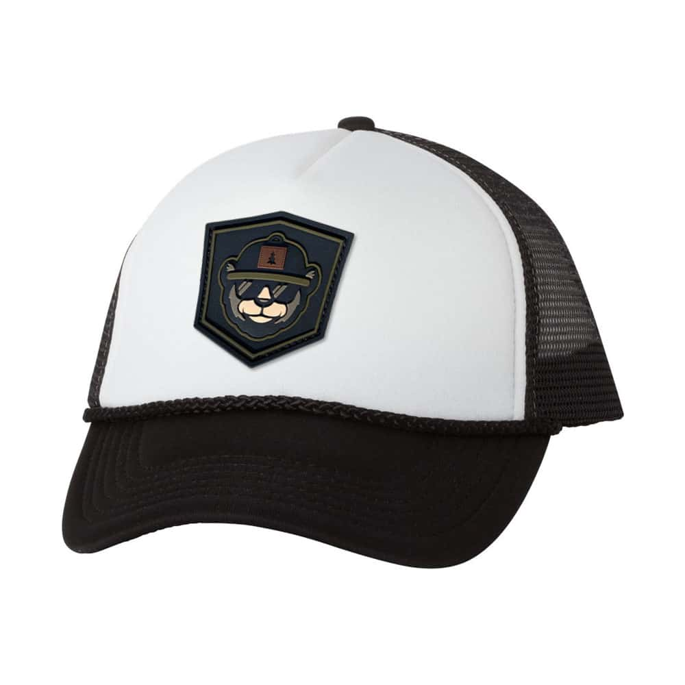 Budget Trucker Hat With PVC Patch