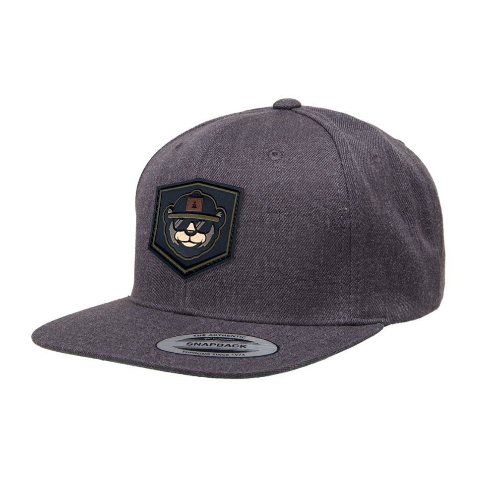 Custom Snapback With PVC Patch