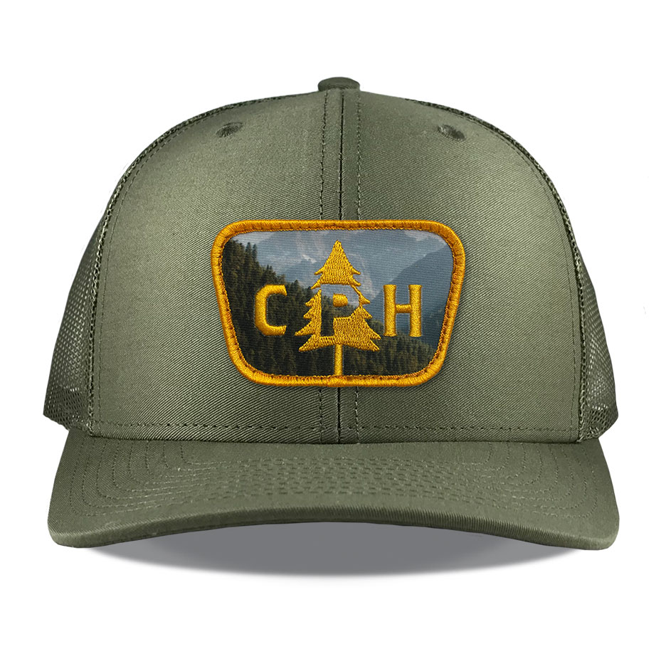 Richardson 112 Loden Sublimated Embroidered Patch Hats