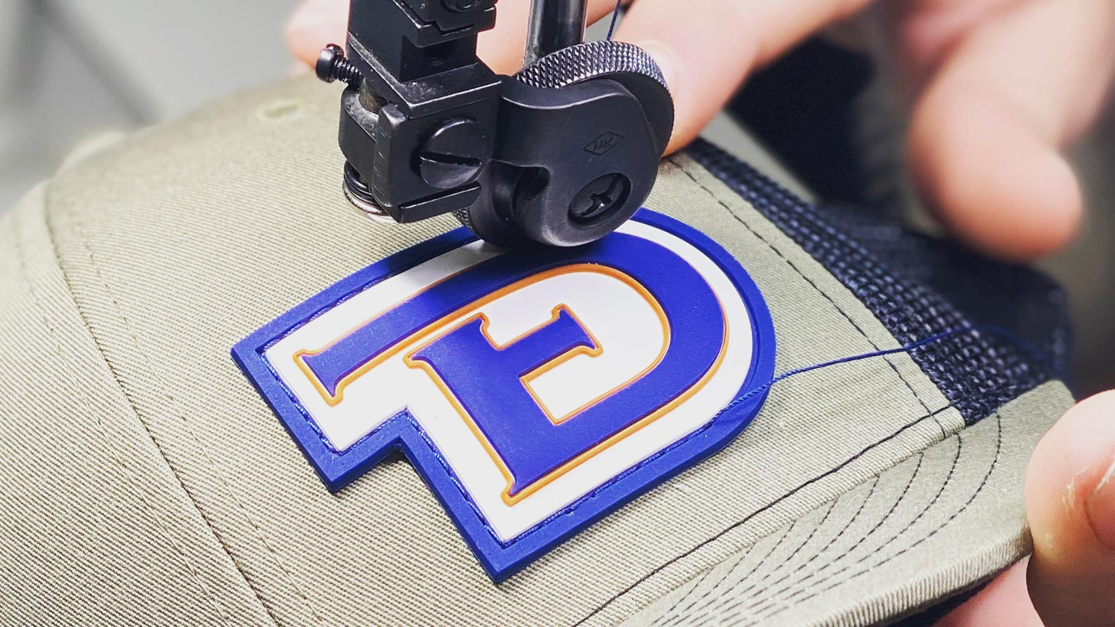 How To Stitch Patches On Hats